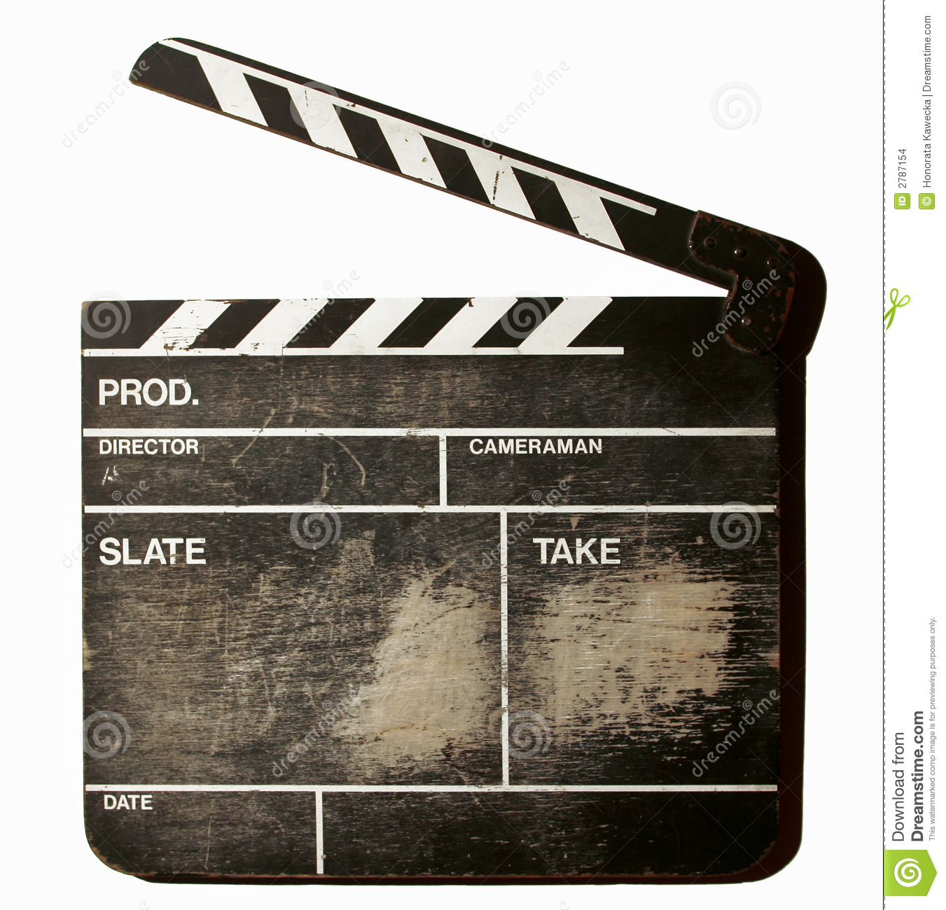 Movie Clapper Stock Images - Image: 2787154