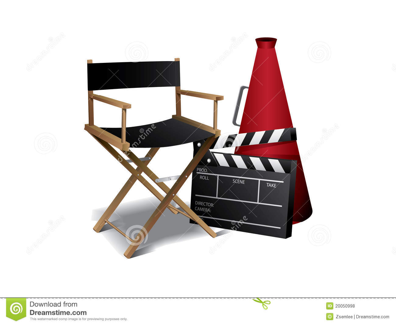 Movie Director Chair Royalty Free Stock Photos - Image ...