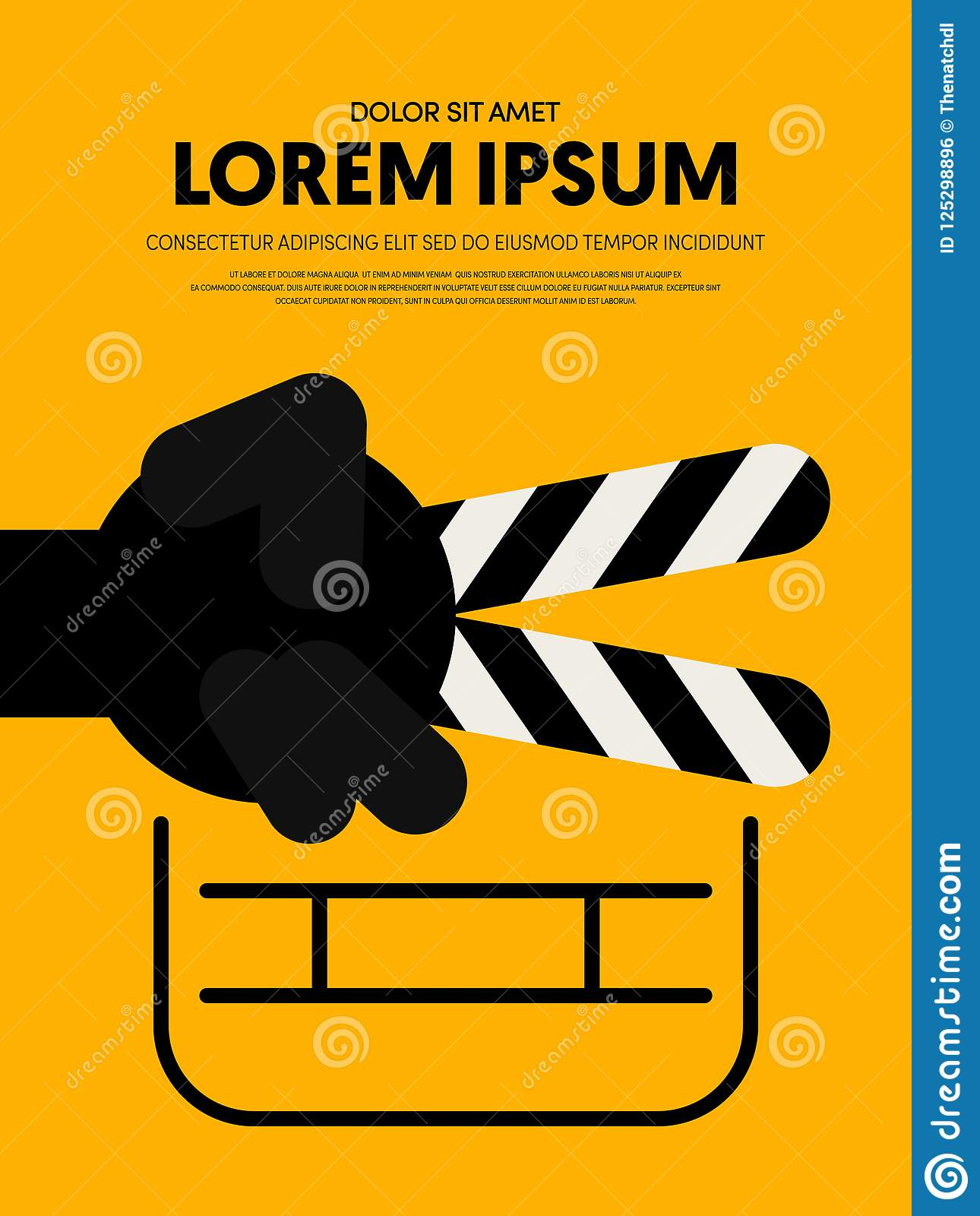 movie poster template for students