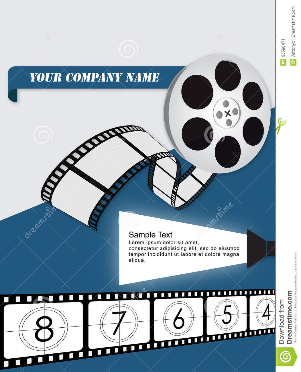 A Movie Flyer