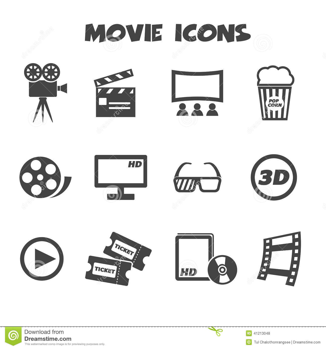 Movie company symbols