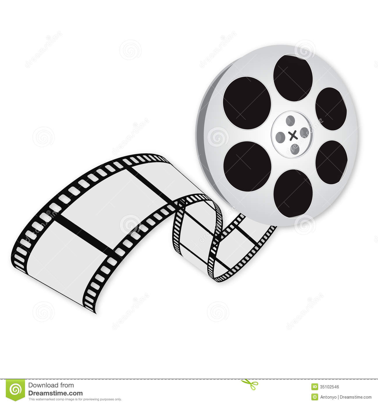 Royalty Free Stock Image Movie Logo Illustration Image35102546 on oscar statue with film