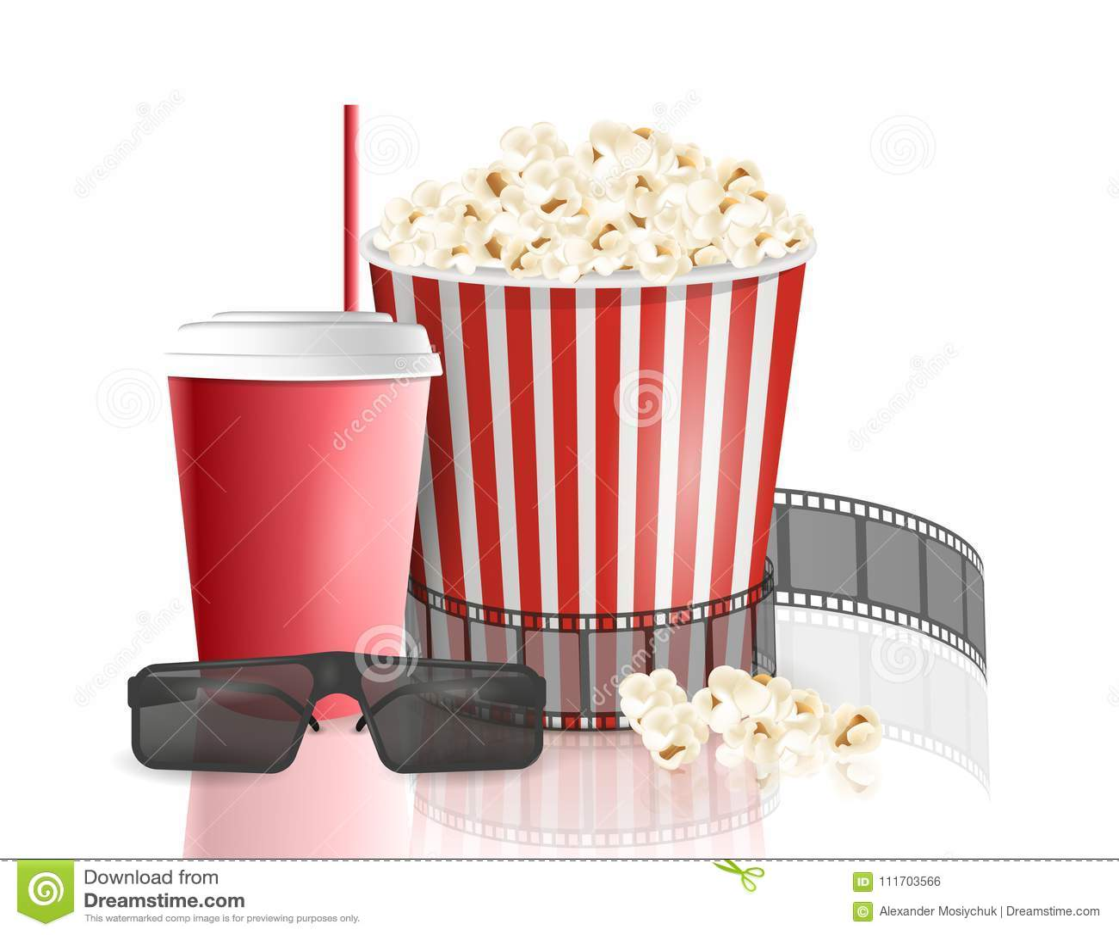 Popcorn 3d Model Free Download