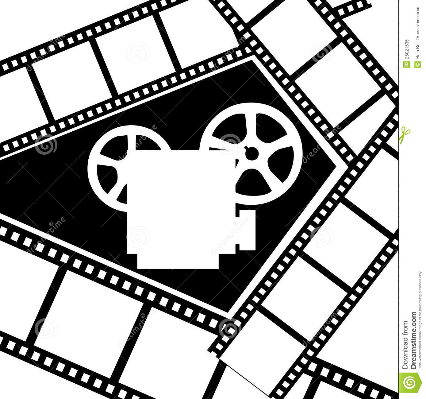 Movie Projector Royalty Free Stock Image - Image: 25021636