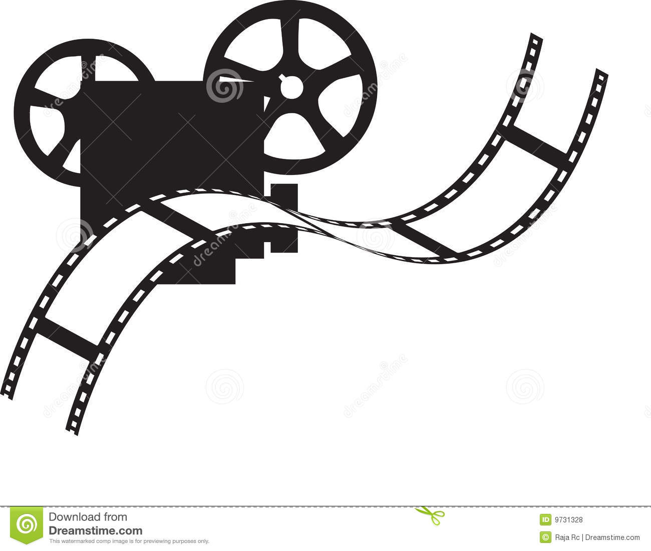 Movie Projector Royalty Free Stock Photos - Image: 9731328
