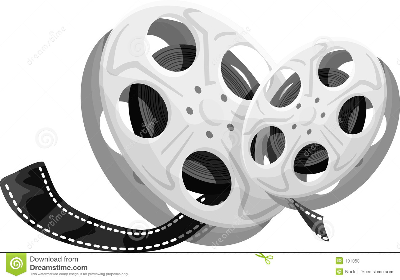 Movie Reel Projector Clipart Images & Pictures - Becuo