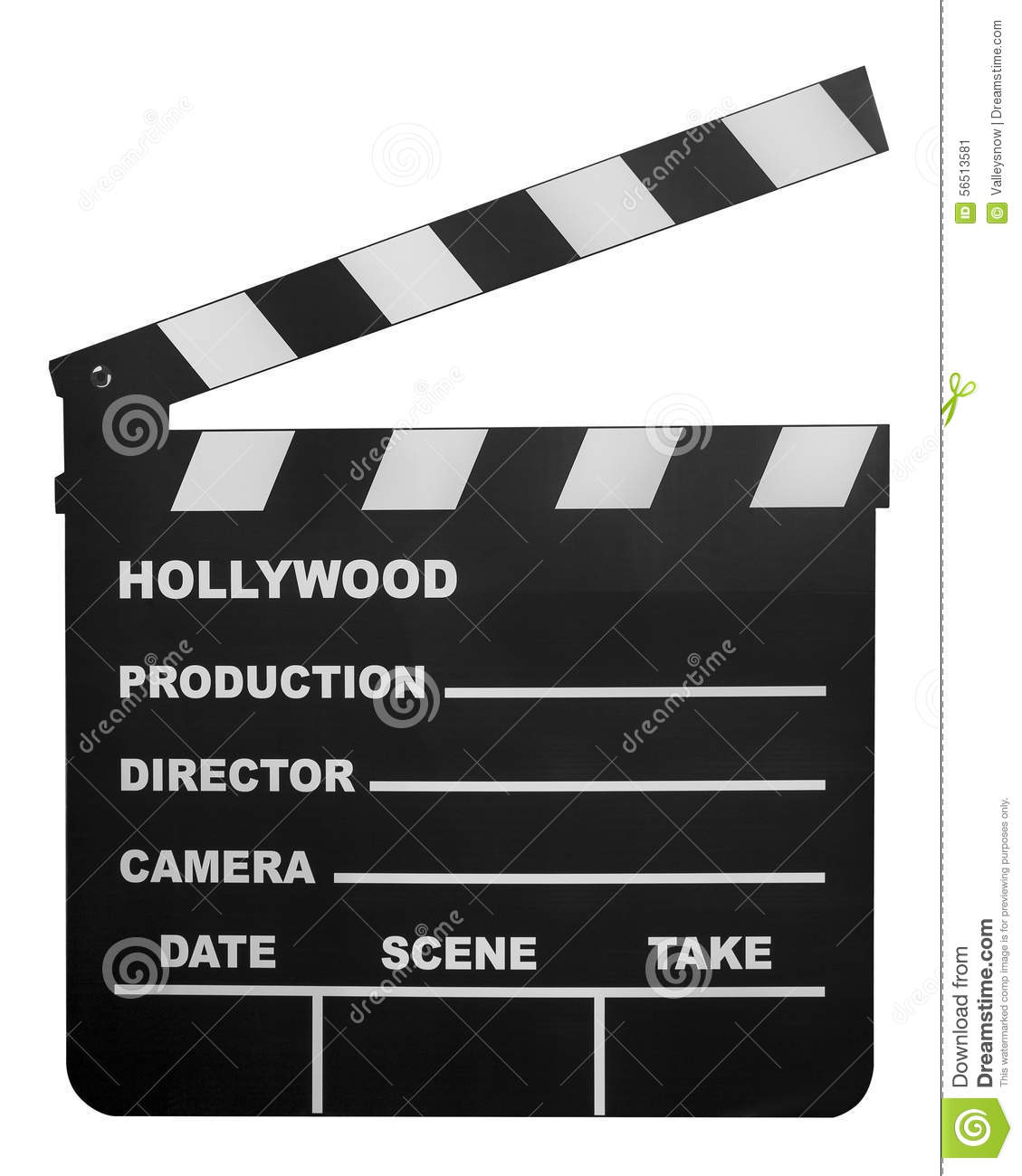 Movie Shooting Board Stock Image Image Of Arts Industry 56513581