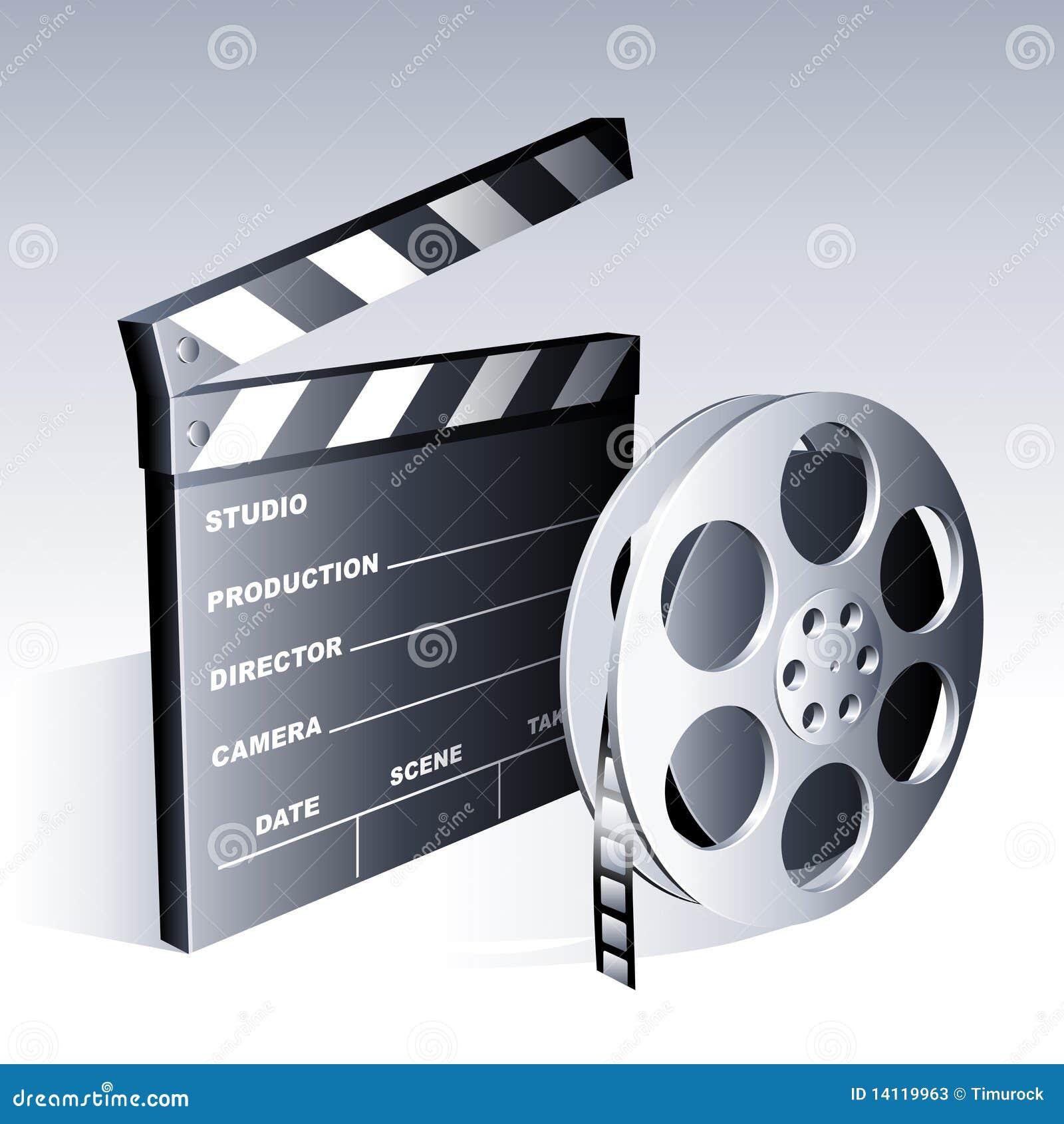 Movie symbols stock vector illustration of equipment 14119963 movie symbols biocorpaavc