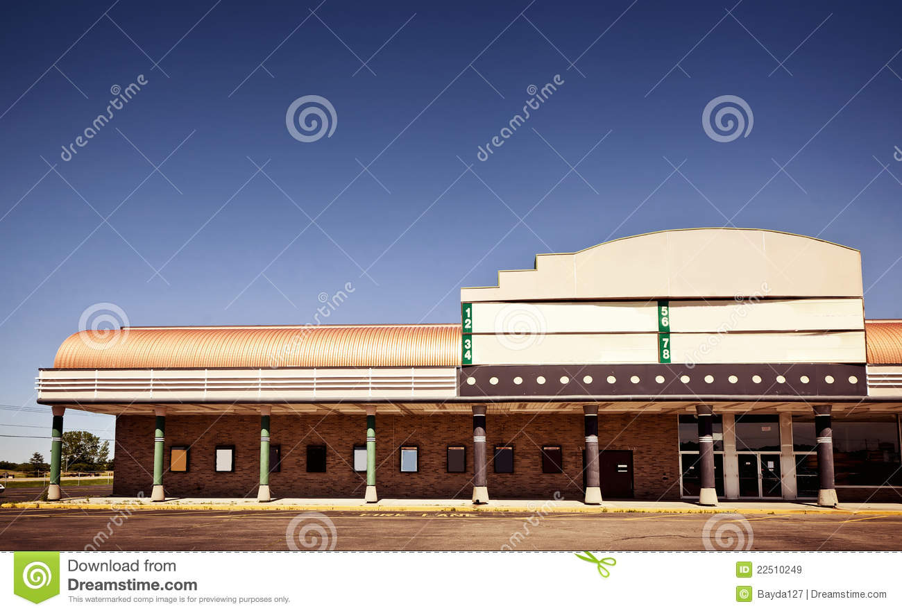 Movie Theater Building Exterior Royalty Free Stock Images ...