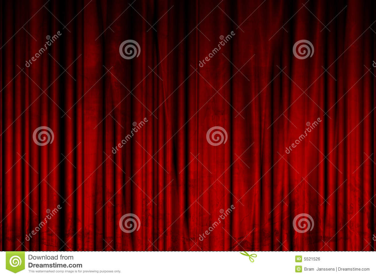 Movie Or Theater Curtain Royalty Free Stock Image - Image: 5521526