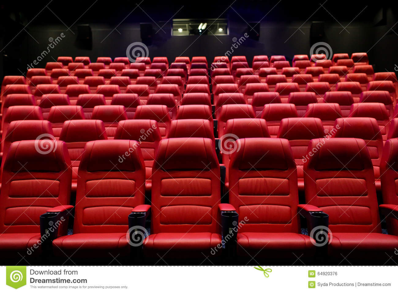 Movie Theater Seats Royalty-Free Stock Photo ...