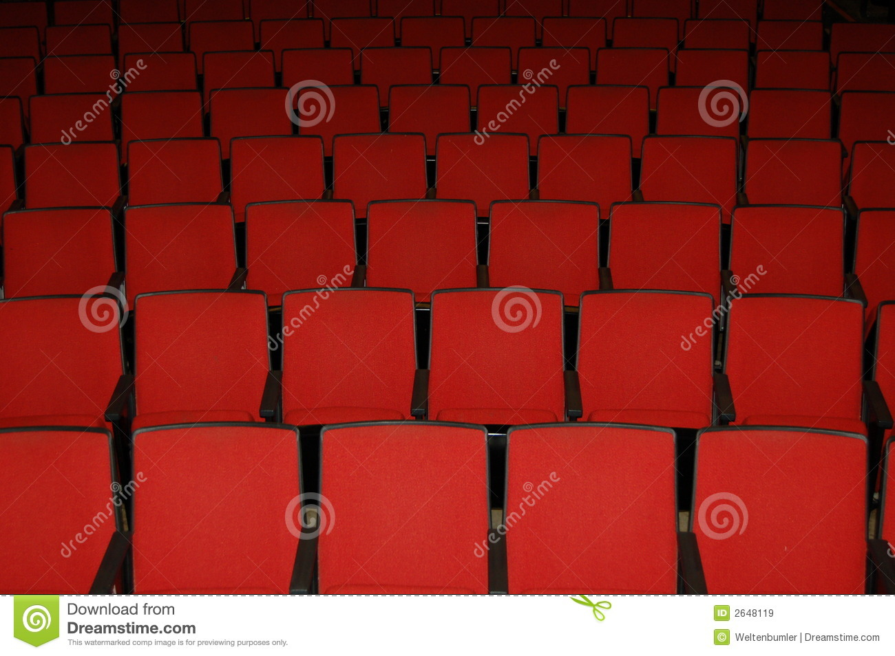 movie theater seats royalty free stock images image 2648119