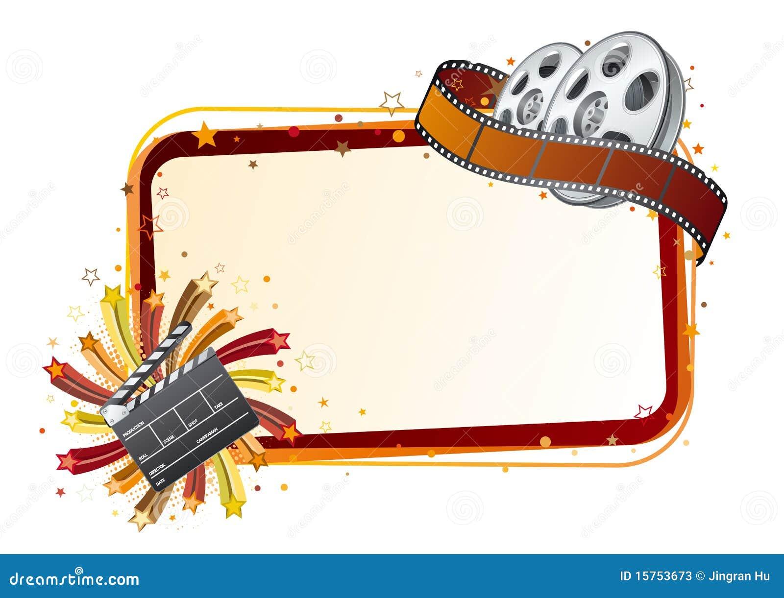 Movie Theme Illustration Stock Vector Illustration Of Filmstrip