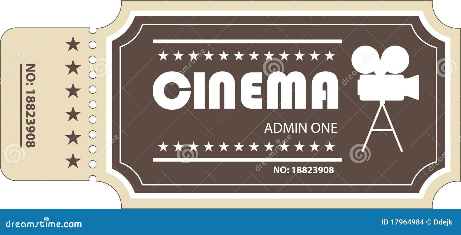 Movie Ticket Clip Art Movie ticket
