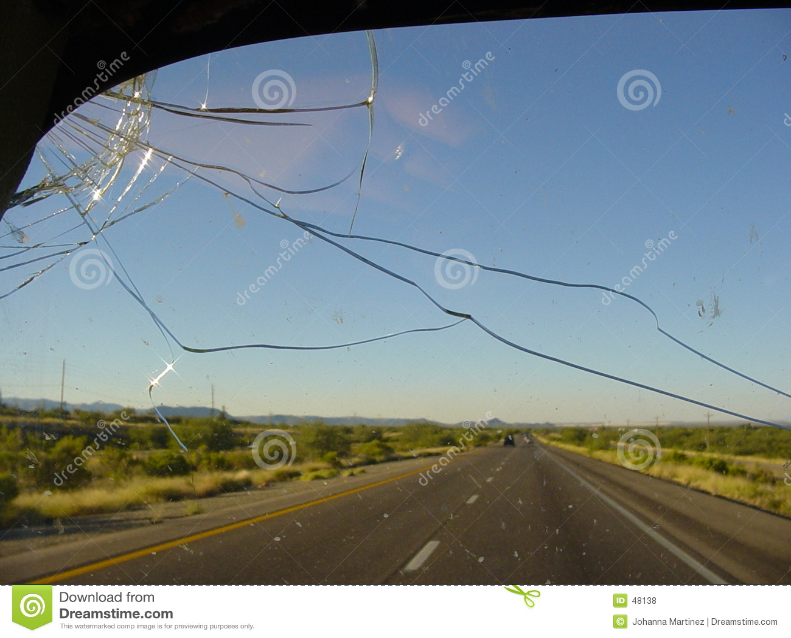 Movimentação da estrada do deserto