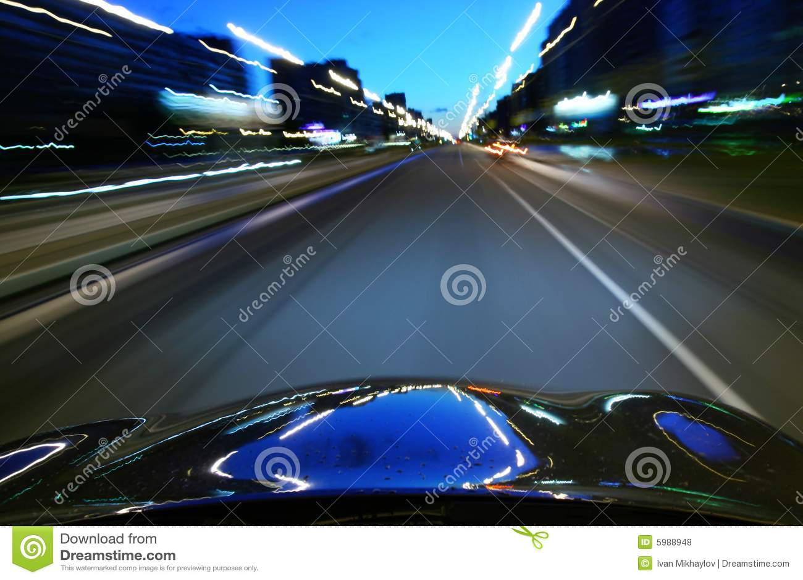 Movimentação da velocidade