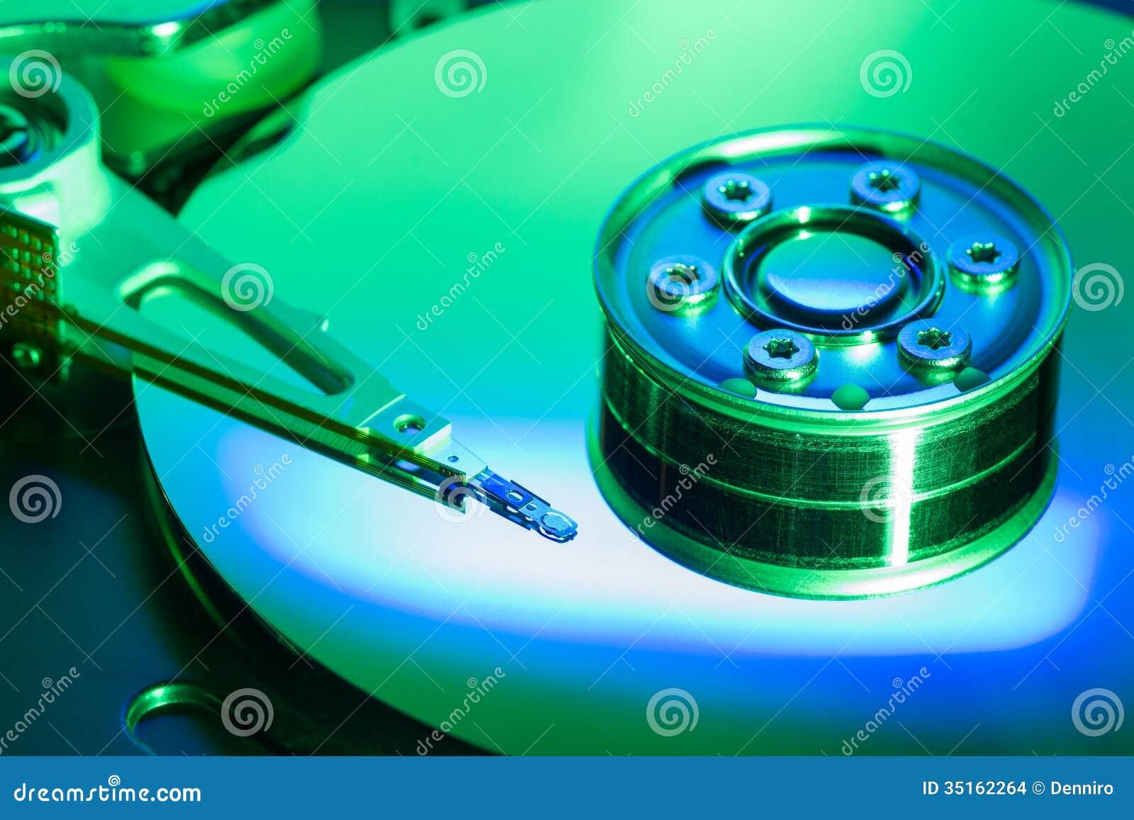 Movimentação de disco rígido