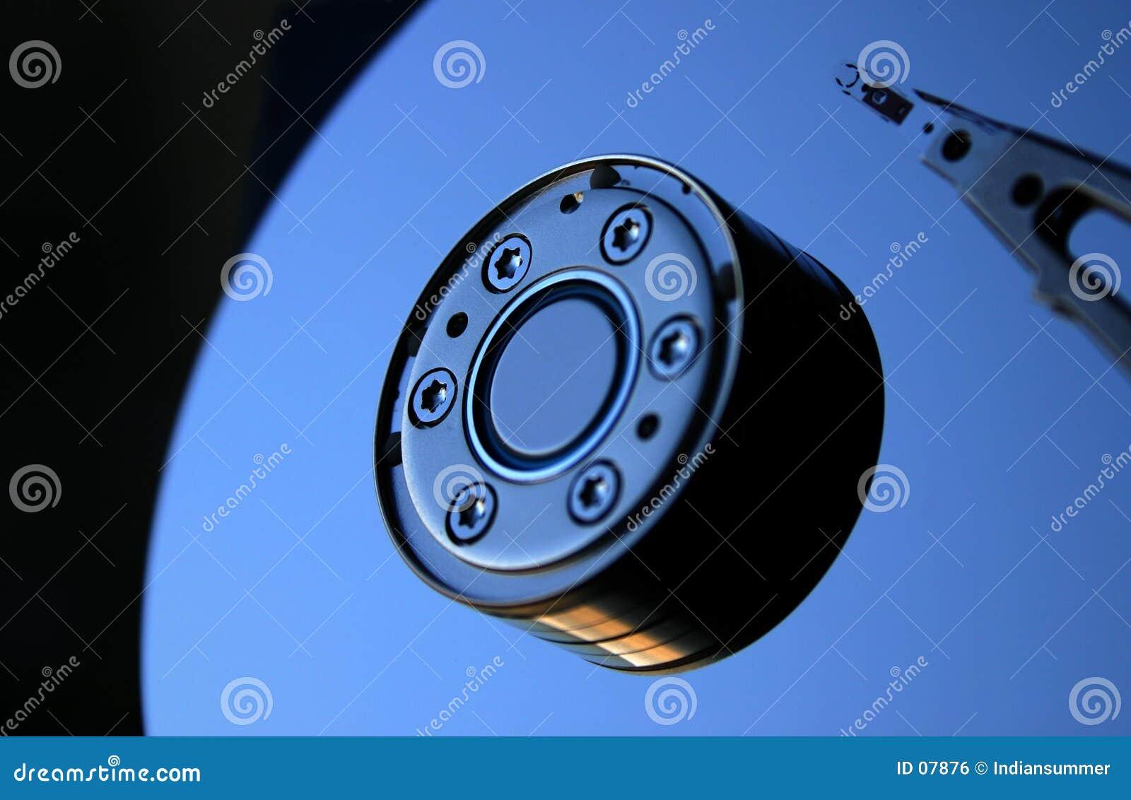 Movimentação VI do disco rígido