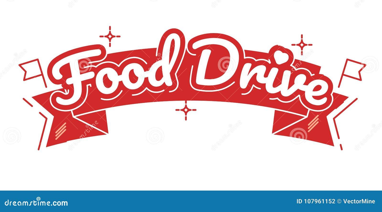 Movimento di carità dell azionamento dell alimento, illustrazione di vettore
