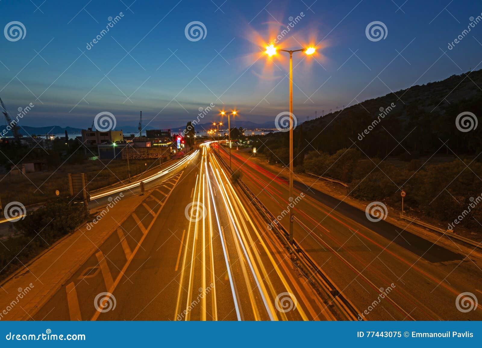 Movimento na estrada