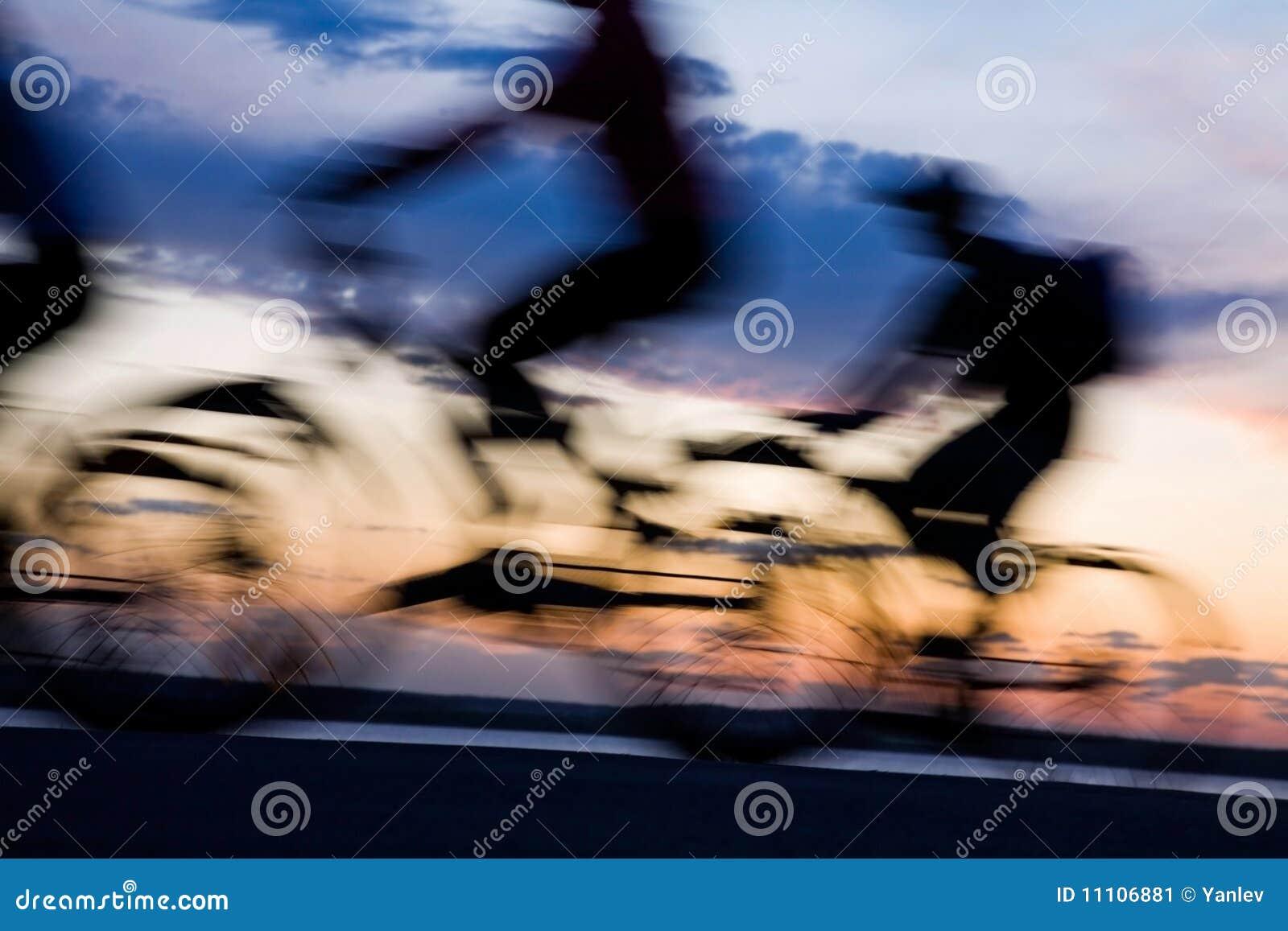 Movimiento de bicyclists