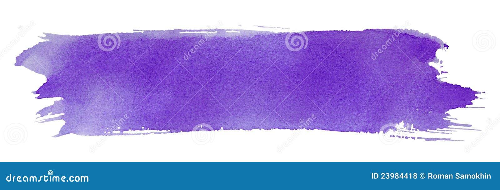 Movimiento violeta del cepillo de pintura