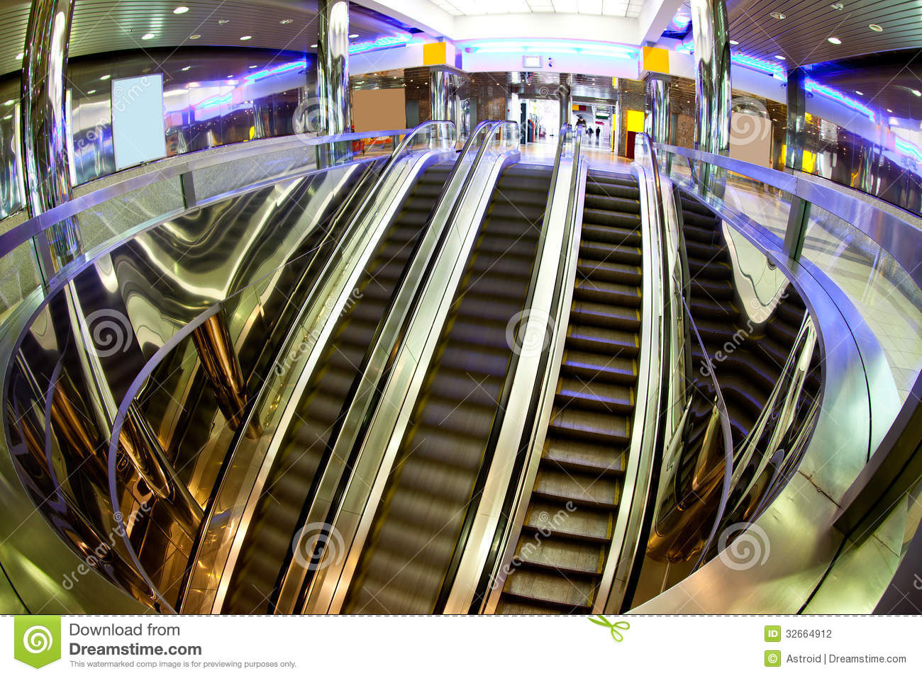The Escalators Moving Staircases