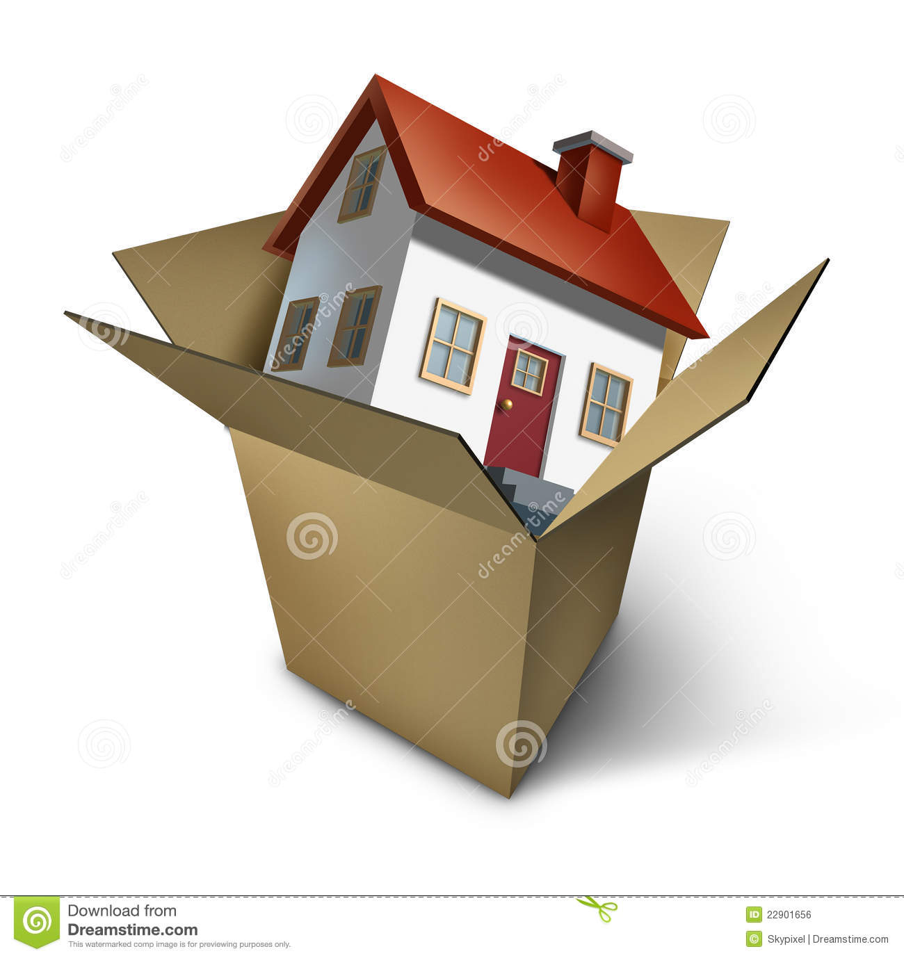 Moving house royalty free stock image image 22901656 When is the best time to move house