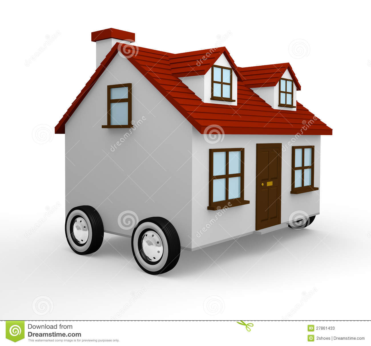 Moving house stock photos image 27861433 When is the best time to move house