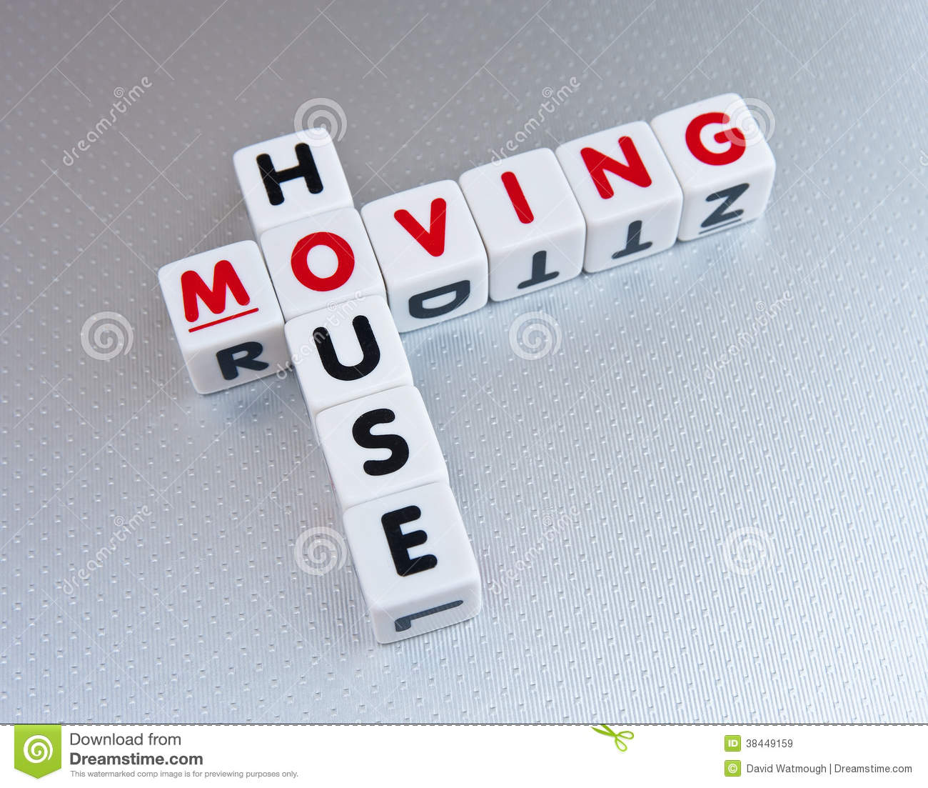 Moving House Stock Image Image Of Crossword Letters 38449159