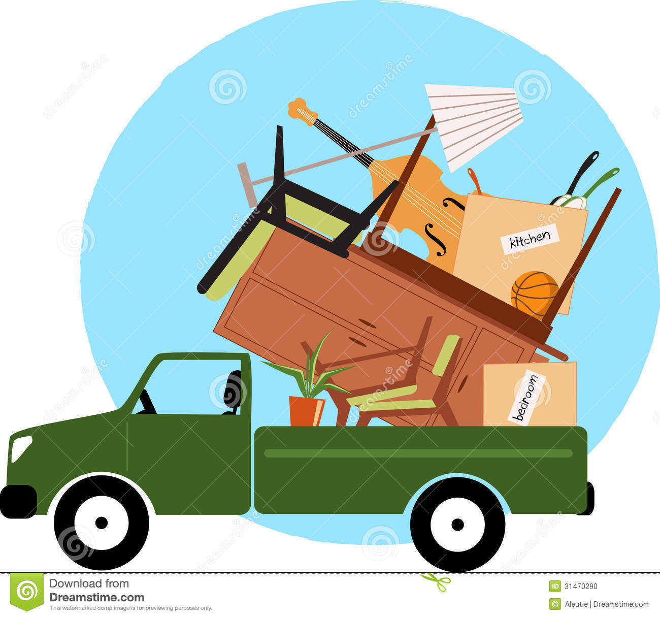 Moving To A New Home Stock Photo Image Of Stuff Home