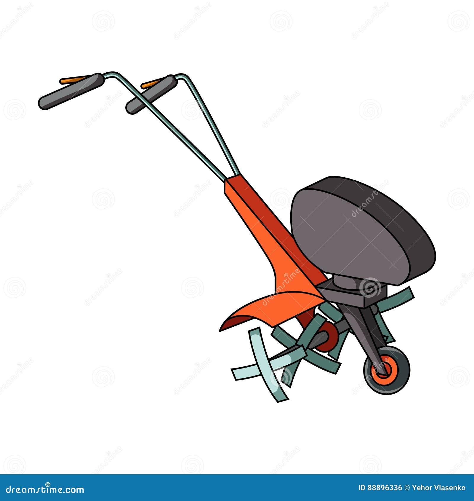 Cartoon Man On Mower : Lawn mower cutting grass cartoon bing images