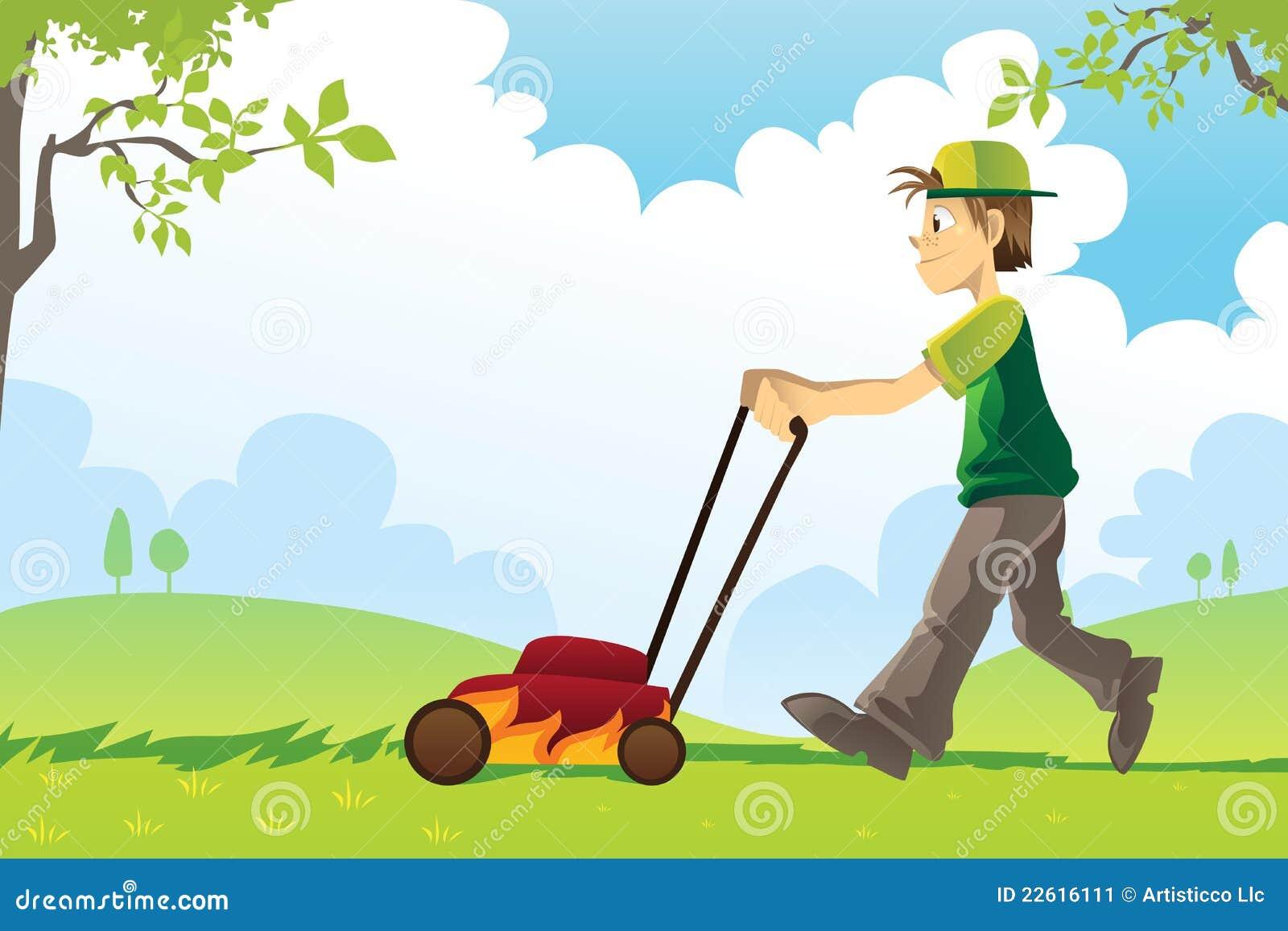 field mowing clip art