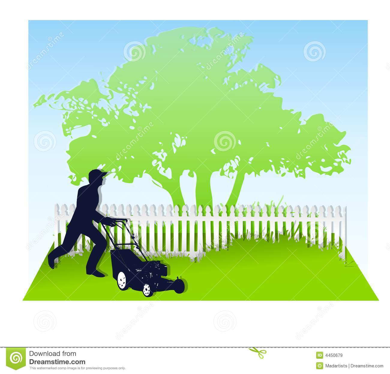 Mowing Cartoons Illustrations Amp Vector Stock Images