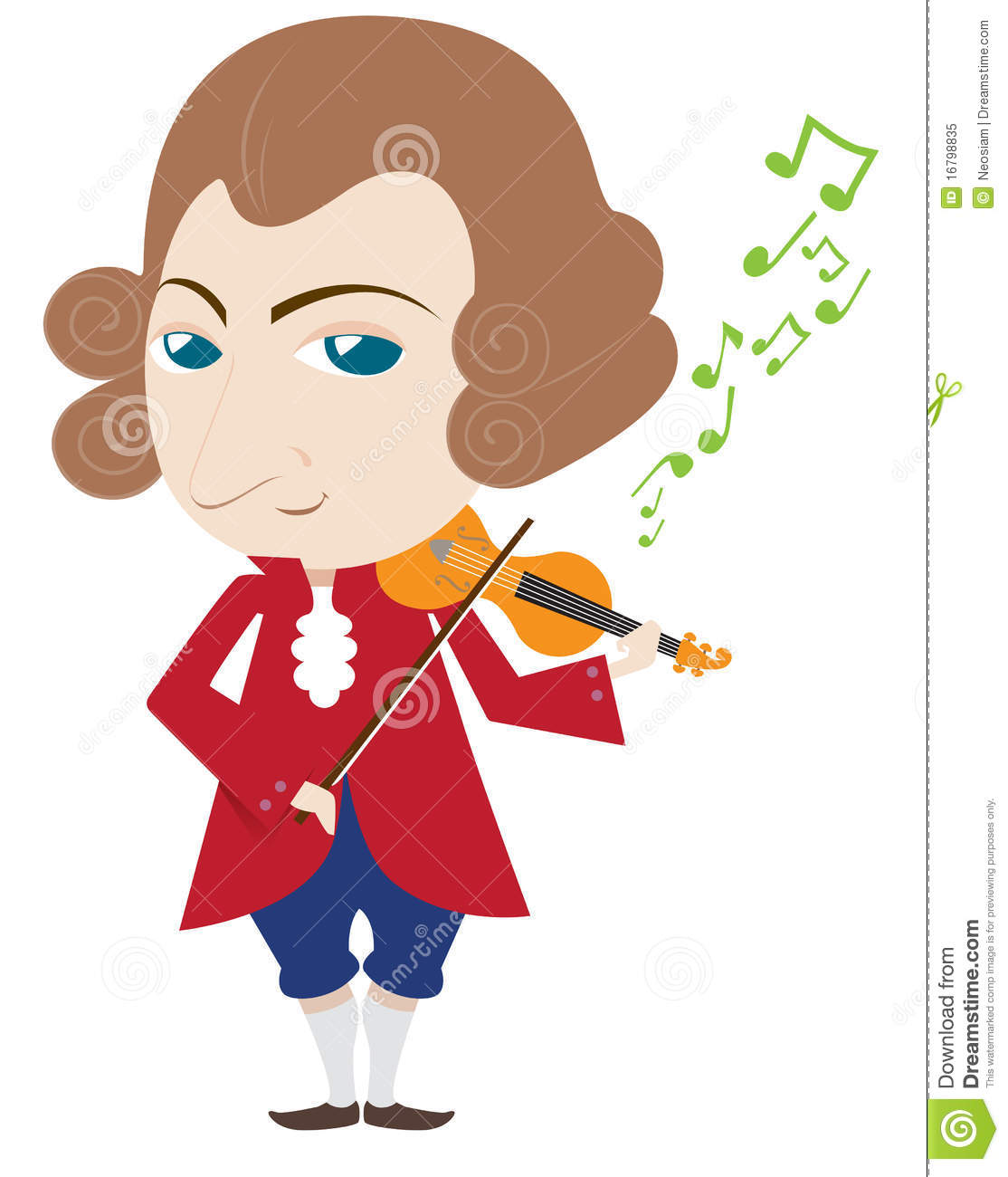 Mozart Royalty Free Stock Photo - Image: 16798835