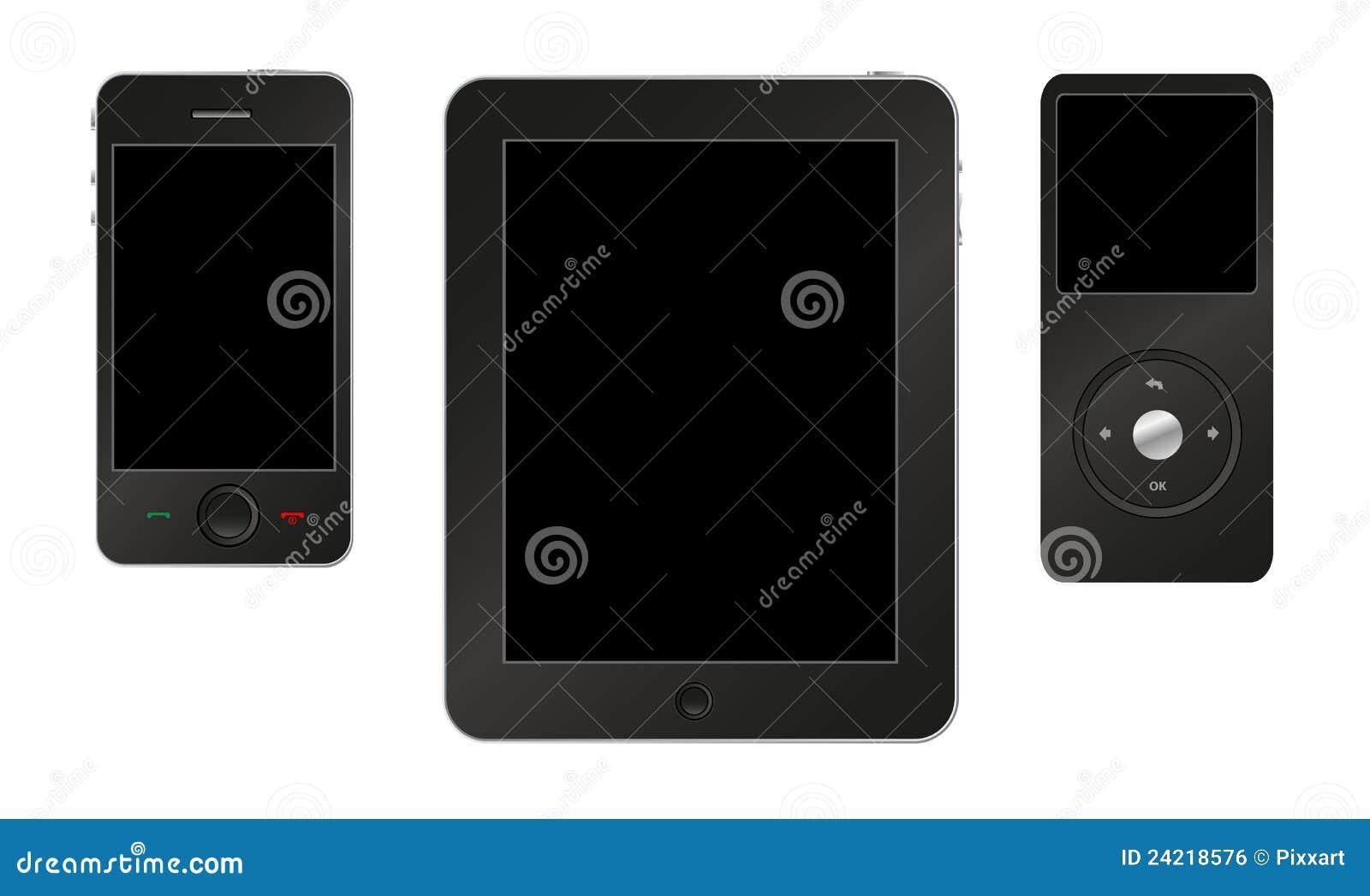 Mp3 ταμπλέτα smartphone φορέων