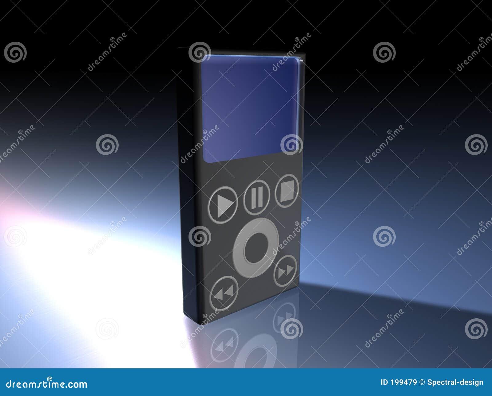 MP3 joueur - noir
