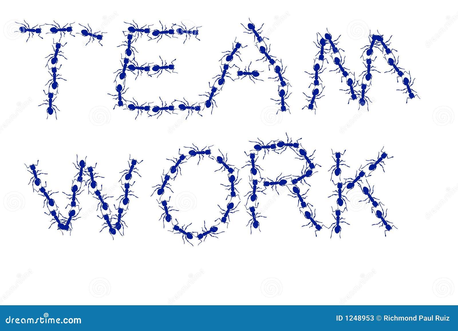 Mrówki drużyny pracy