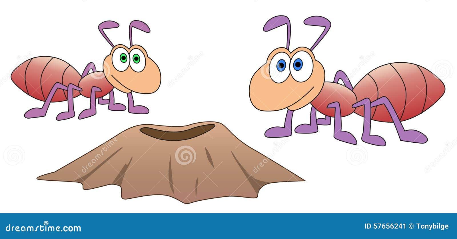 Mrówki i anthill