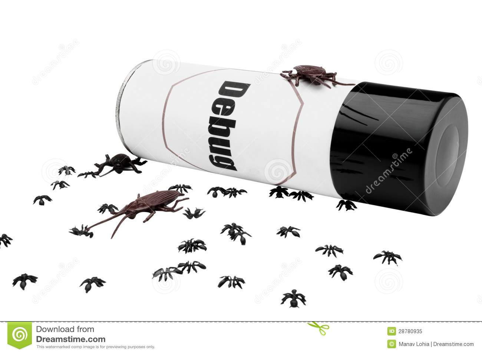Mrówki i karakany zbliżają insekta repellent