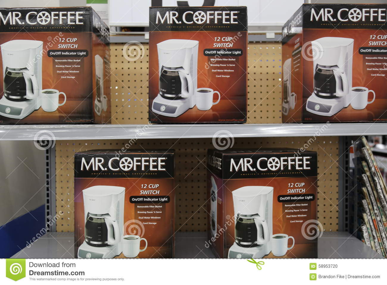 Mr coffee editorial image image 58953720 for Jarden consumer solutions