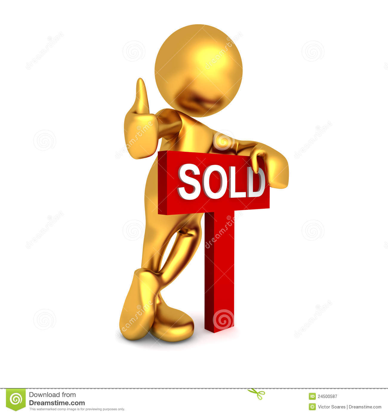 Mr Goldman - Done Deal Royalty Free Stock Photography - Image ...