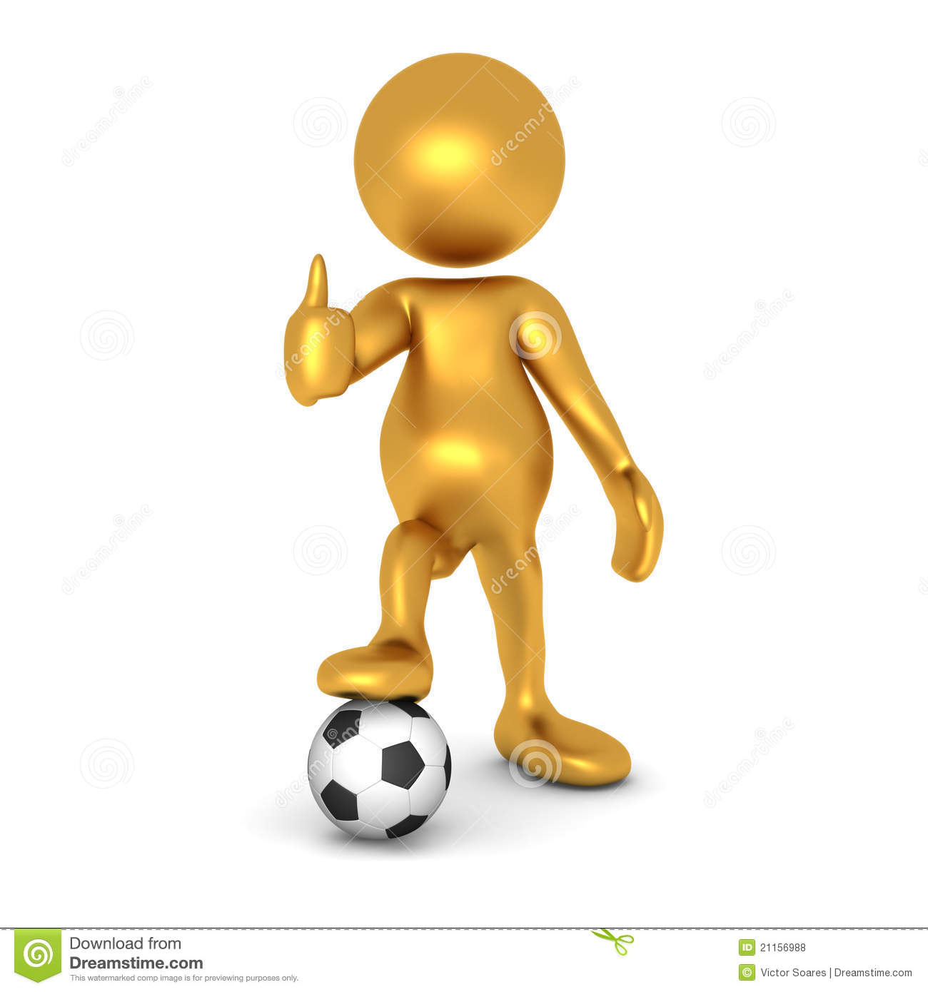 Mr Goldman Thinks Soccer Is Cool Royalty Free Stock Photos - Image ...