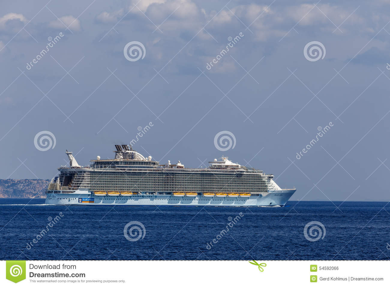 The only ship in the world with a rotational sail