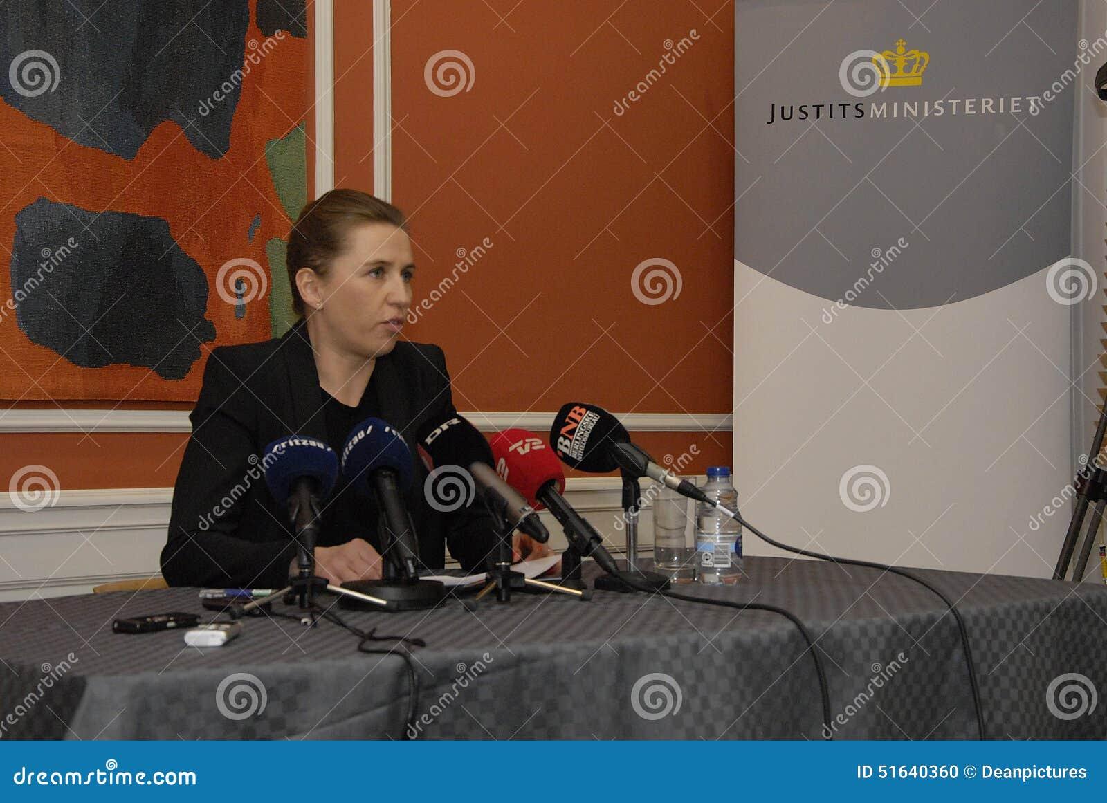 Ms Mette Frederiksen_minister dla sprawiedliwości