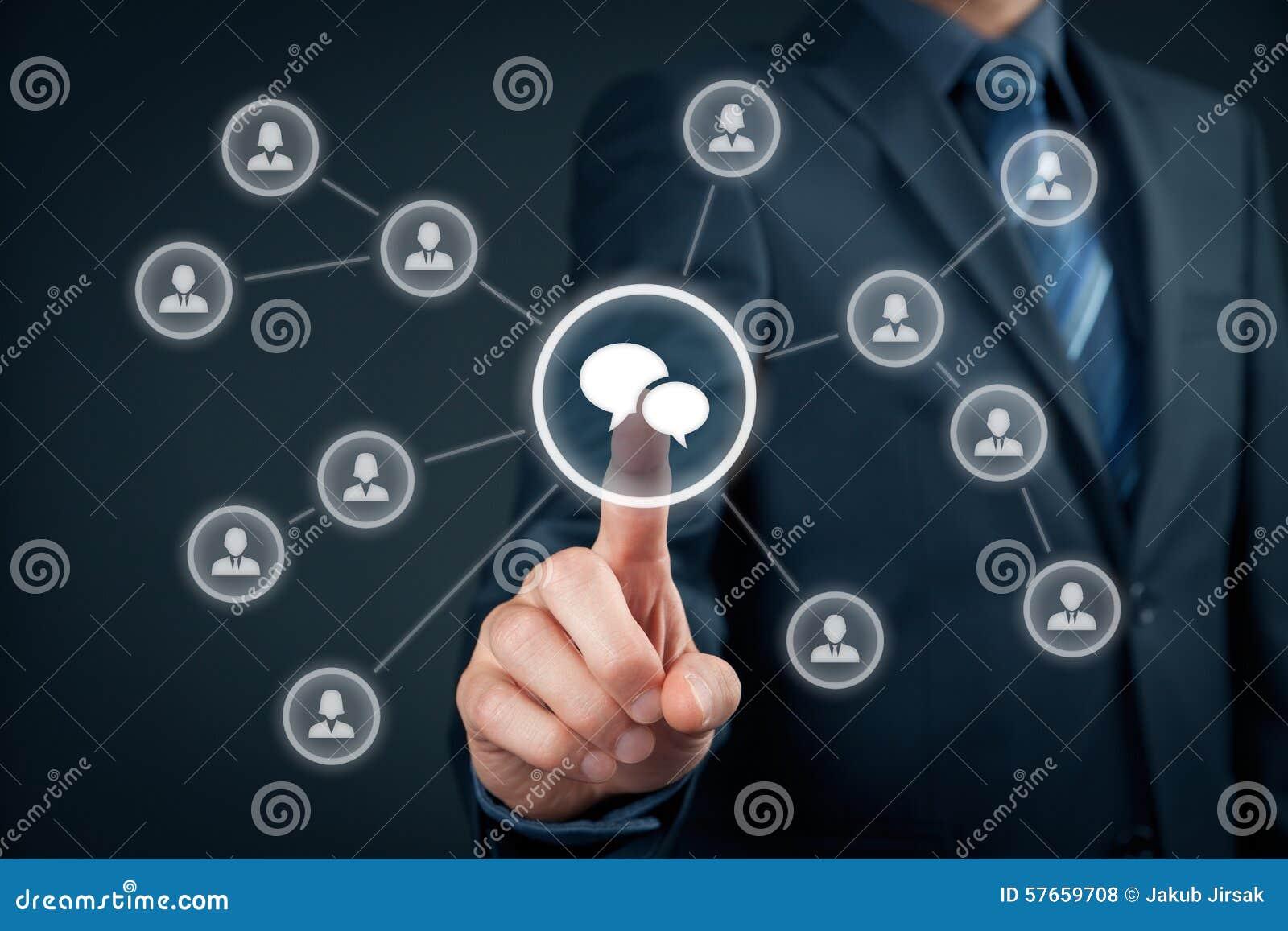 Mszalny marketing i dyskusja