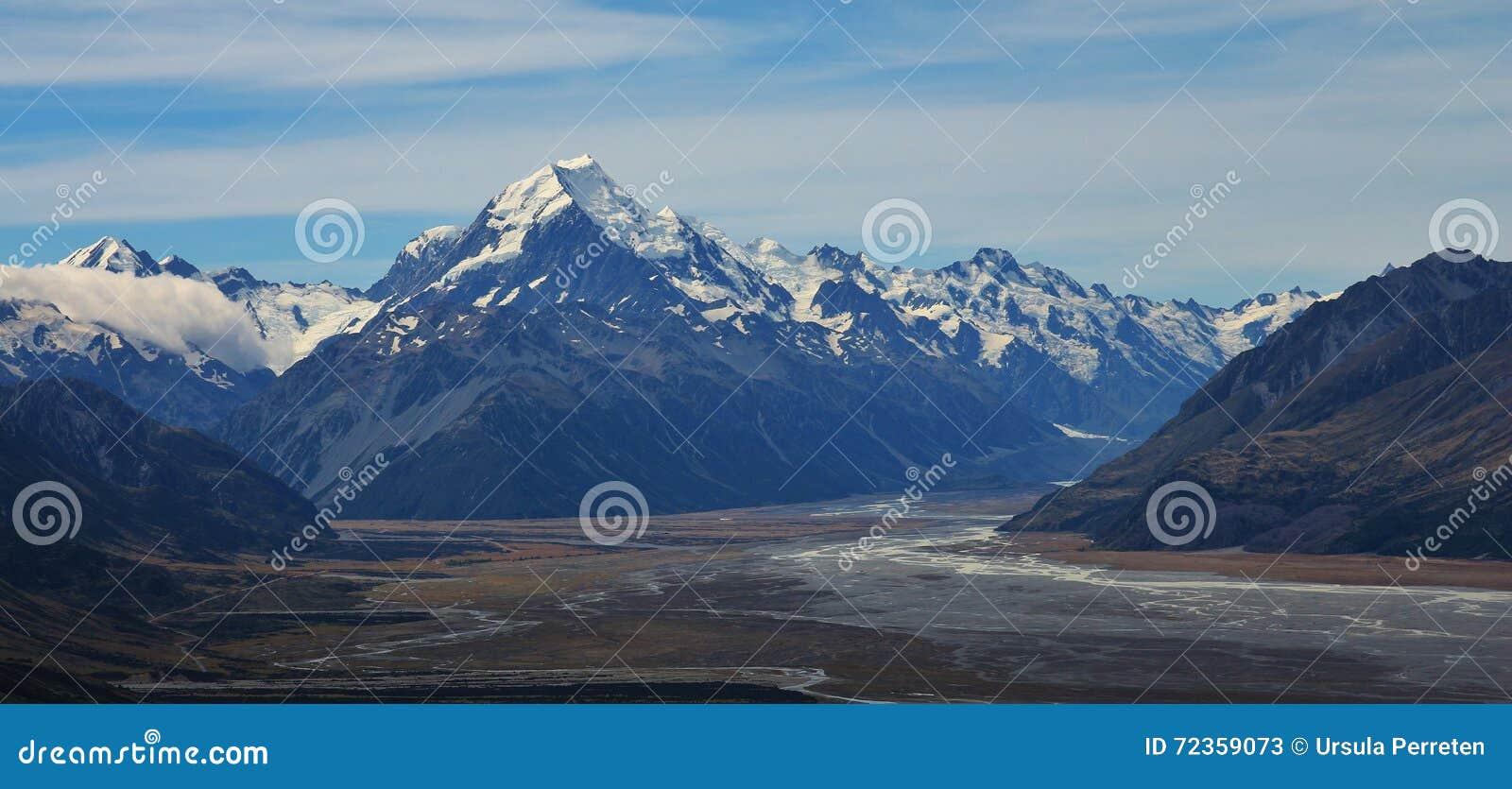 Mt厨师和其他高山看法