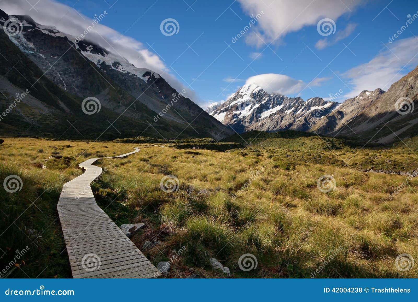 Mt Aoraki (Mt Koch), Neuseeland