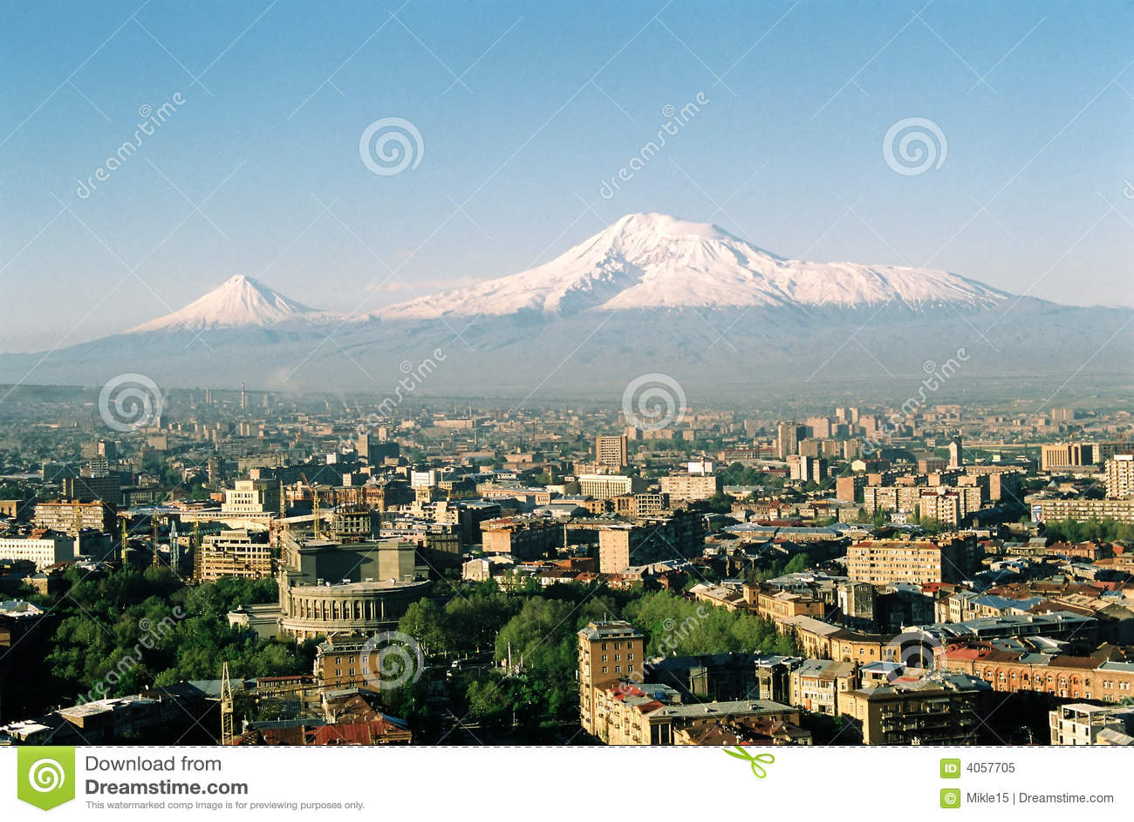 Mt. Ararat a Yerevan, Armenia