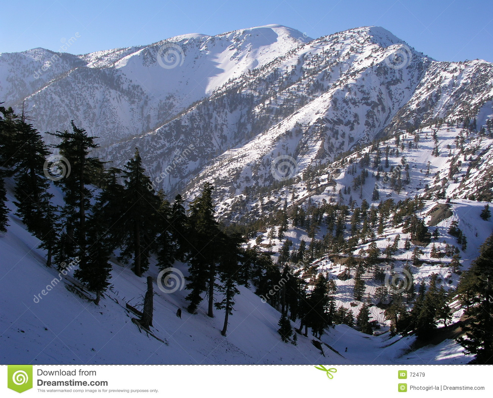 Mt. Baldy en hiver